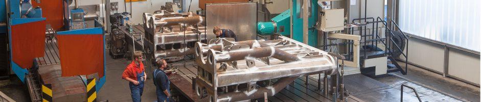 Mechanische Fertigung und Großteilebearbeitung – ENGL