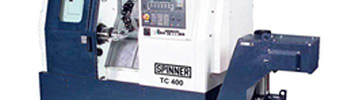 Investition in neue CNC-Drehmaschine SPINNER TC 400-52-MC