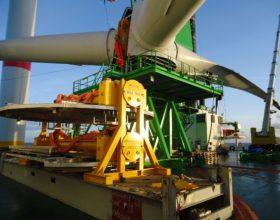 40 ft flatrack component transport offshore