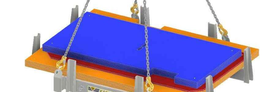 Sonder-Lastaufnahmemittel für den Rückbau einer kerntechnischen Anlage (KTA)