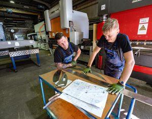 Ausbildung Blechverarbeitung