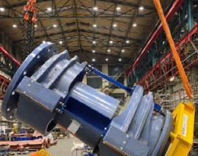 Kipprahmen Rotorwellenbaugruppe 5/6 MW