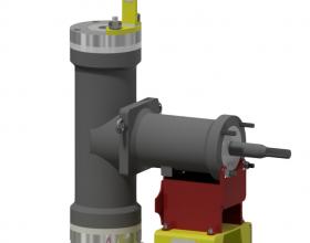 Lastaufnahme- und Montagevorrichtung Pumpenkörper