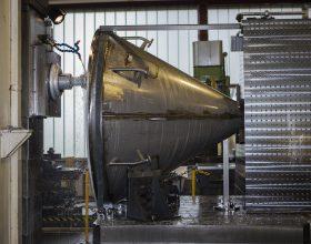 CNC-Bohrwerksbearbeitung Behälter