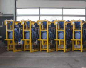 Kleinserie Drehantriebssysteme 5/6 MW