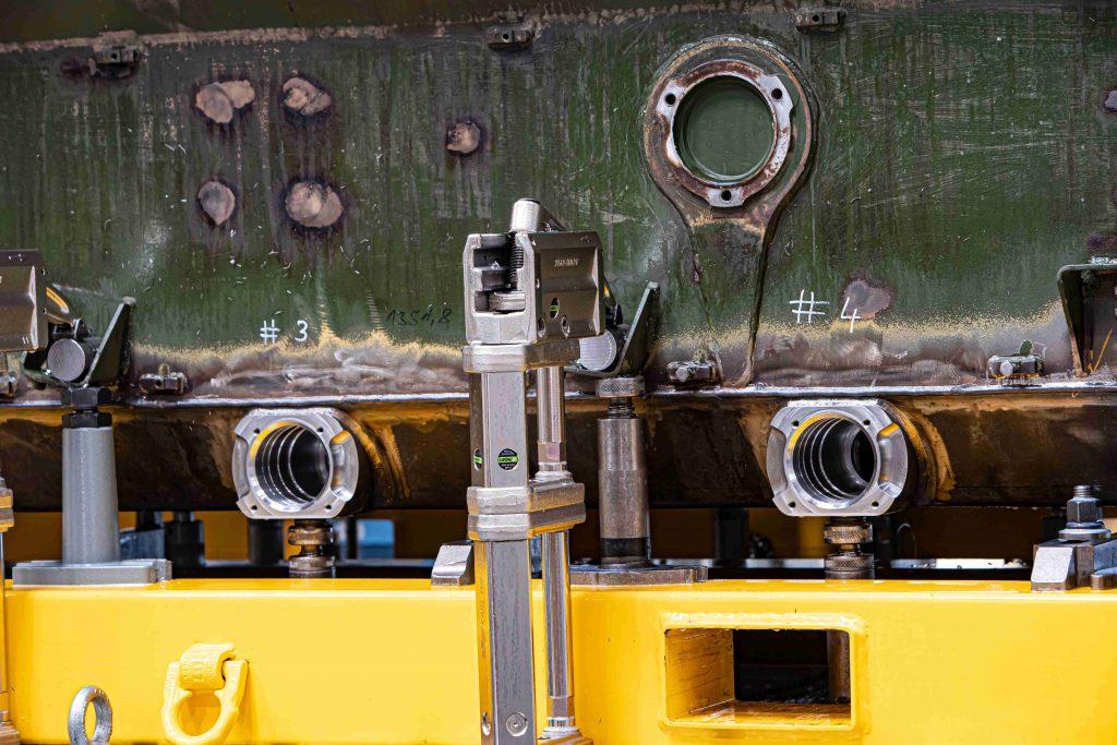 CNC-Bohrwerksbearbeitung Detailansicht