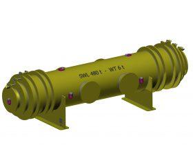 Gondeltraverse SWL 480 t - Sonderkonstruktionen Windenergie