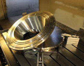 Flansch Vakuum-Drehverbindung