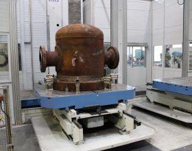CNC-Bohrwerksbearbeitung eines Schwimmkopfs im Rahmen von Notfall-Reparaturen