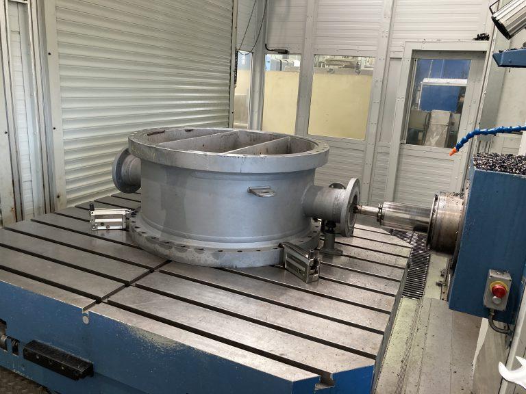 Notfall-Reparatur: Vorkammer Wärmetauscher - Nachsetzen einer Dichtfläche