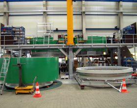 Montageplattform mit Plattformwagen