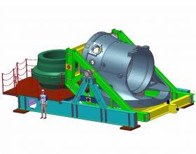 Montagevorrichtung Maschinengehäuse Sonderkonstruktionen