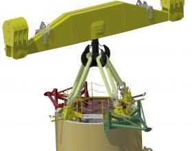 Tripod Lifting Tool SWL 950 t