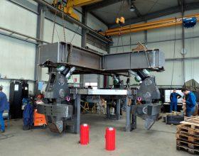 Vorbereitung Tripod Lifting Tool - SWL 950 t