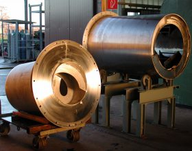 components rotary furnace