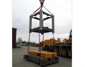 craneable transport frame - SWL 15 t