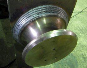 detail of weld seam