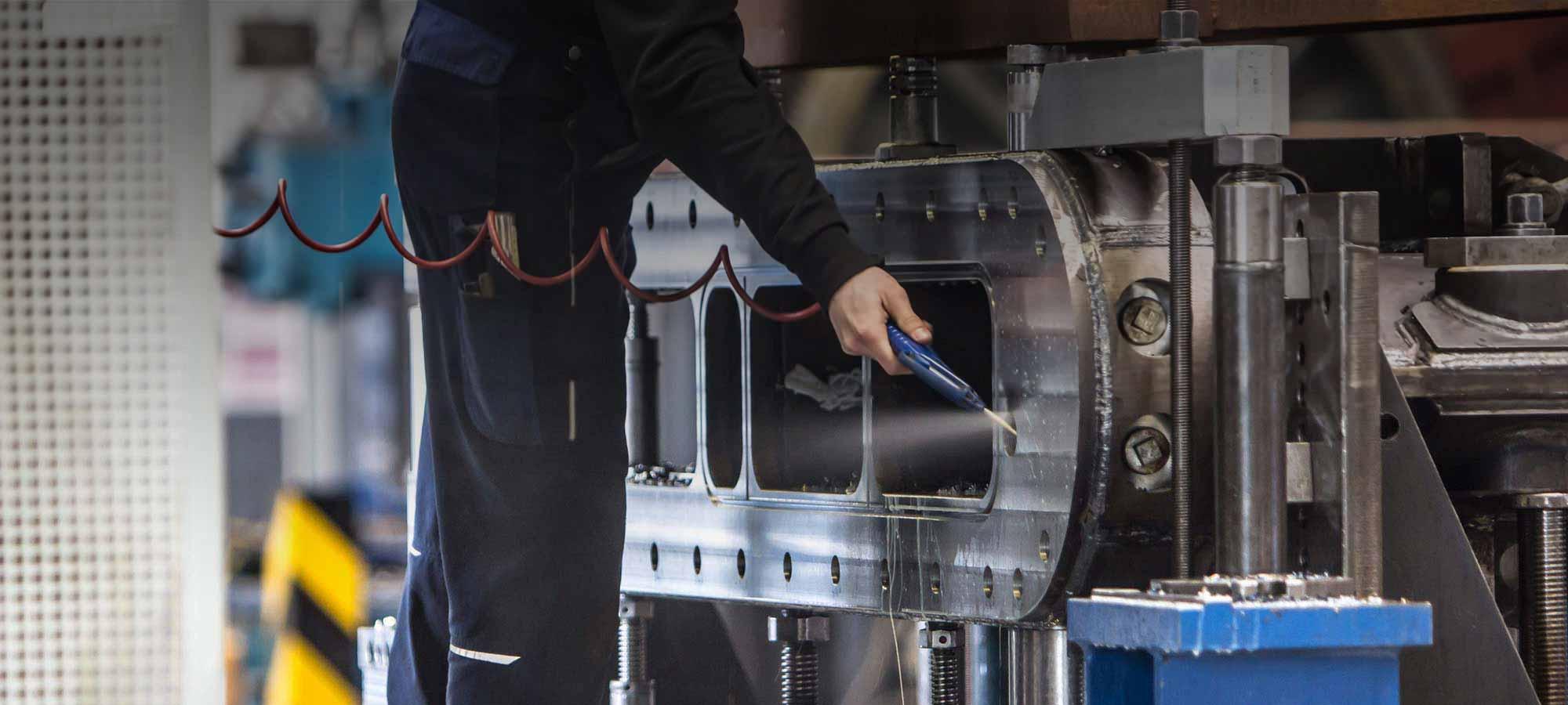 Mechanische Fertigung und Großteilebearbeitung