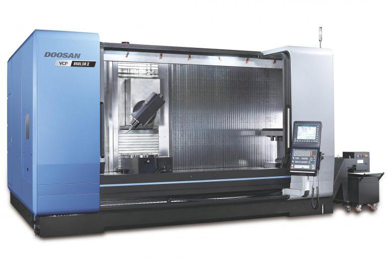 DOOSAN VCF 850 LSR 5-Achs-CNC-Fahrständerbearbeitungszentrum