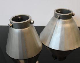 edged miniature funnels