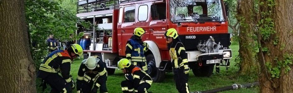 2.000,- € für die Freiwillige Feuerwehr Eddelak
