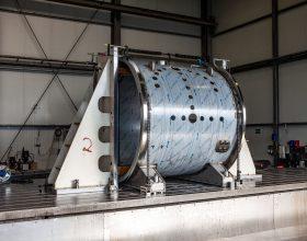 flange and coat machining vacuum chamber