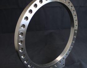 flange vacuum slewing ring