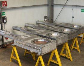 gastight lock system DN 600