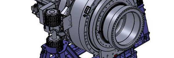 """Offshore-Transportrahmen für Getriebe """"SENVION 6M"""""""