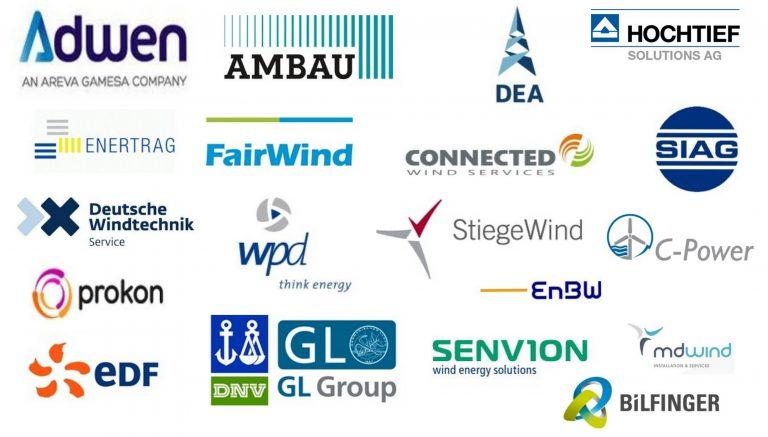 Unsere Kunden im Bereich der Windenergie
