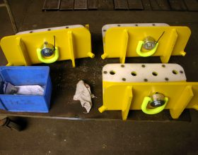 lifting gear for blade bearings 5 MW