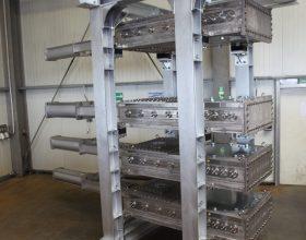 lock system with gastight slides AD 2000