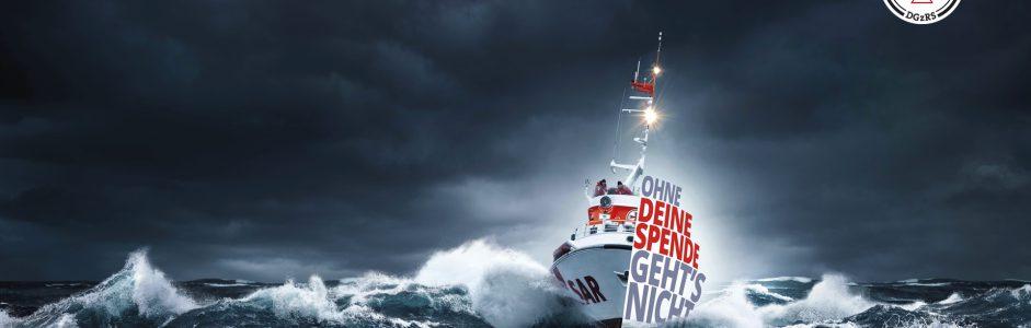 2.000,- € für die Gesellschaft zur Rettung Schiffbrüchiger (DGzRS)