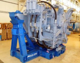 offshore transport frame gearbox 6 MW
