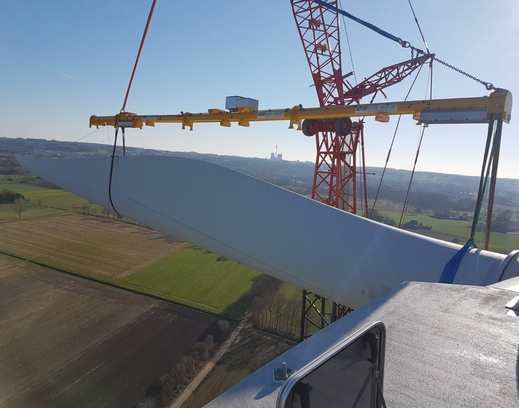 remote-controlled single blade installation