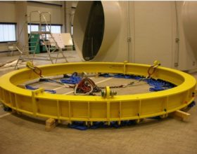 ring traverse SWL 15 t - installation for inner platform of a wind turbine