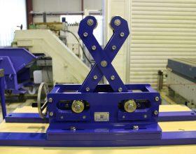 roller bock laser welding apparatus