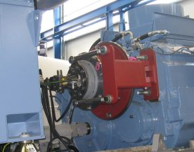 rotary drive system for drive train 2 MW (single blade installation)
