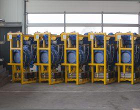 rotary drive system single blade installation 5-6 MW