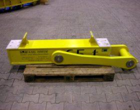 rotatable beam traverse