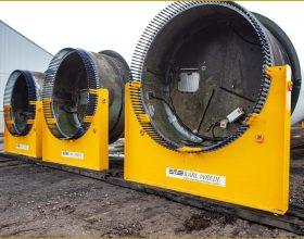 Rotorblatt-Transportgestell 5/6 MW