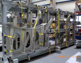 steel transport frame nacelle cover