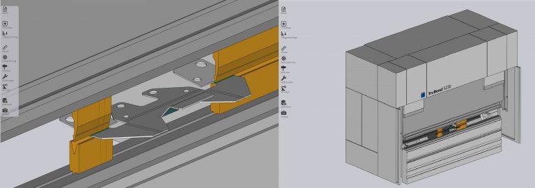 Offline-Programmierung mit TecZone Bend
