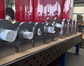 test stand fork heads