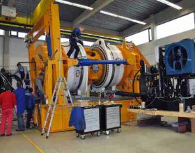 test stand gearbox (wind energy)