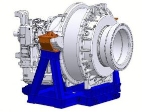 transport frame gearbox 6 MW