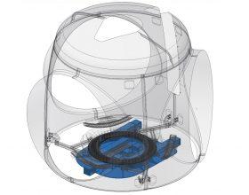 transport frame rotor hub 3 MW