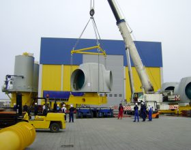 transport frame hub 5 MW