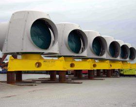 transport frame rotor hub 5 MW