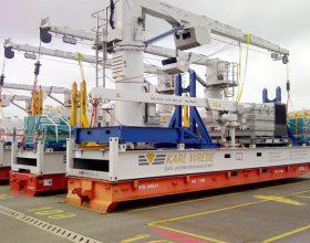 offshore transport frame